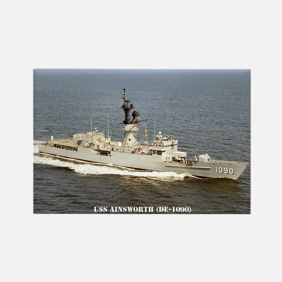 USS AINSWORTH Rectangle Magnet
