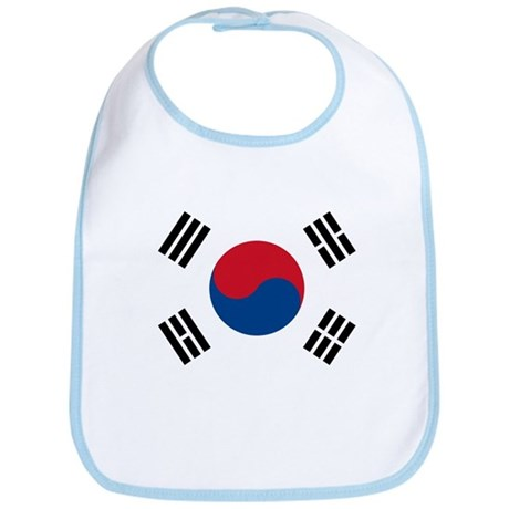 Flag of South Korea Bib