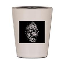 Vintage, Ghandi Shot Glass