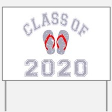 Class Of 2020 Flip Flop Yard Sign