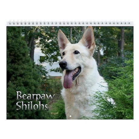 Bearpaw Shilohs Wall Calendar :2013