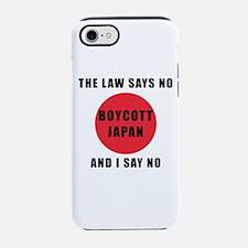 Boycott Japan - The Law Says Iphone 7 Tough Case