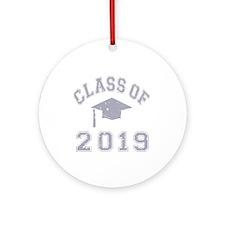 Class Of 2019 Graduation Ornament (Round)