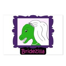 Bridezilla Postcards (Package of 8)