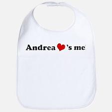 Andrea loves me Bib