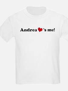 Andrea loves me Kids T-Shirt