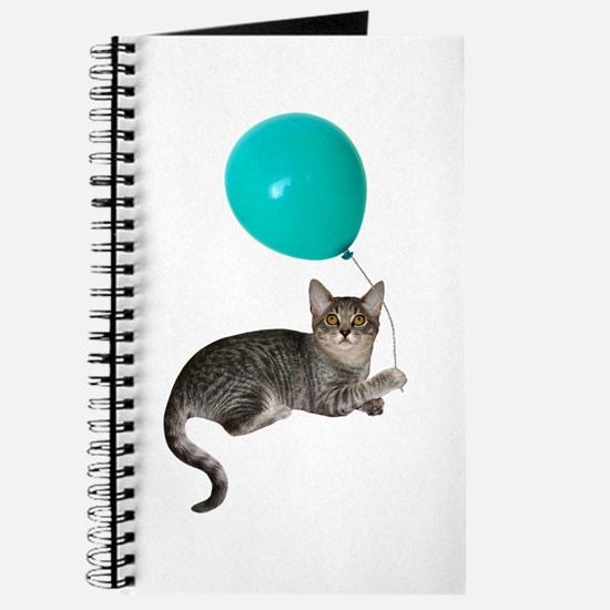 Cat with Ballon Journal