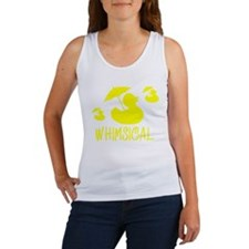 Whimsical Adhesive Duck Women's Tank Top