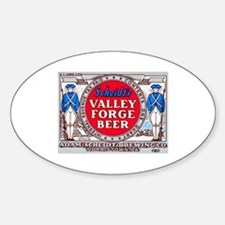 Pennsylvania Beer Label 14 Sticker (Oval)