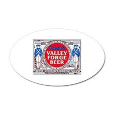 Pennsylvania Beer Label 14 22x14 Oval Wall Peel