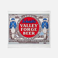 Pennsylvania Beer Label 14 Throw Blanket