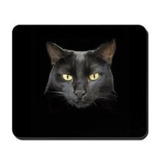 Dangerously Beautiful Black C Mousepad