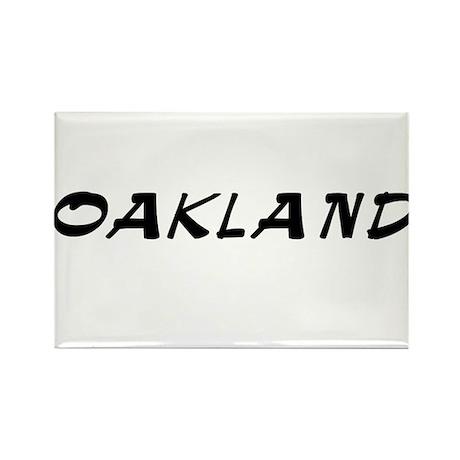 Oakland (www.repoakland.com) Rectangle Magnet