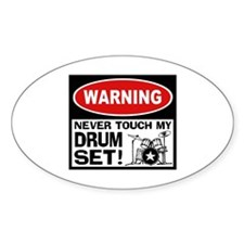 Funny Drummer Decal