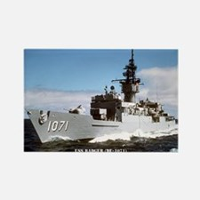 USS BADGER Rectangle Magnet