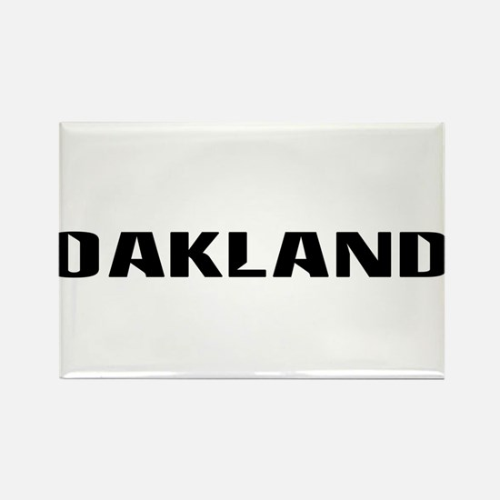 Oakland (www.repoakland.com) Rectangle Magnet