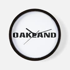 Oakland (www.repoakland.com) Wall Clock