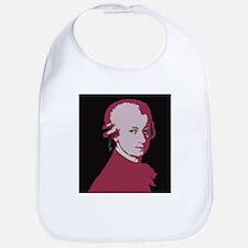 Mozart Portrait Bib