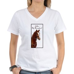 I Love My Thoroughbred! Shirt