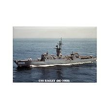 USS BAGLEY Rectangle Magnet