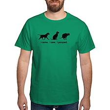 I Came. I Saw. I Pooped Funny Dog T-Shirt