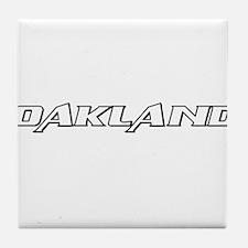 Oakland (www.repoakland.com) Tile Coaster