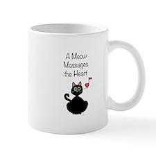 Meow Massages the Heart Mug