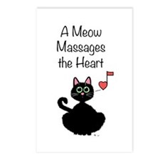 Meow Massages the Heart Postcards (Package of 8)