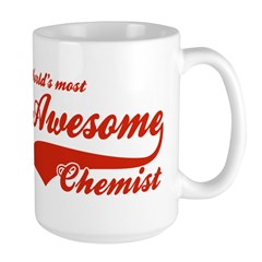 World's Most Awesome Chemist Large Mug