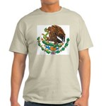Mexico Coat Of Arms Ash Grey T-Shirt