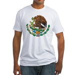 Mexico Coat Of Arms Fitted T-Shirt