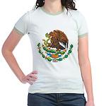 Mexico Coat Of Arms Jr. Ringer T-Shirt