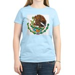 Mexico Coat Of Arms Women's Pink T-Shirt