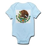 Mexico Coat Of Arms Infant Creeper