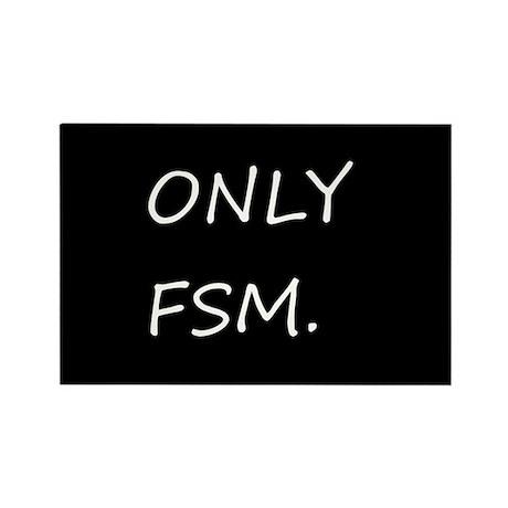 Only FSM Fridge Magnet (10pk)