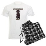 Affenpinscher Mom Men's Pajamas