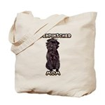 Affenpinscher Mom Tote Bag