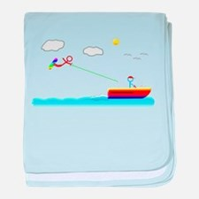 Cute Sports and recreation baby blanket