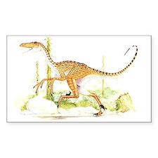 Velociraptor Rectangle Decal