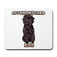 Affenpinscher Dad Mousepad