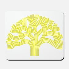 Oakland Tree Yellow Mousepad