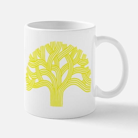 Oakland Tree Yellow Mug