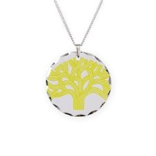 Oakland Tree Yellow Necklace