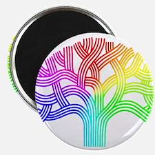 Oakland Tree Rainbow Magnet