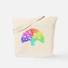 Oakland Tree Rainbow Tote Bag