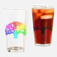 Oakland Tree Rainbow Drinking Glass