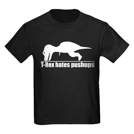 CafePress Funny and Witty Kids Dark T-Shirt