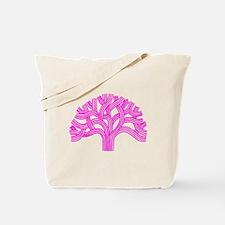 Oakland Tree Pink Tote Bag