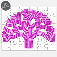 Oakland Tree Pink Puzzle