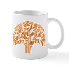 Oakland Tree Orange Mug